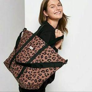 Victoria's secret leopard tote